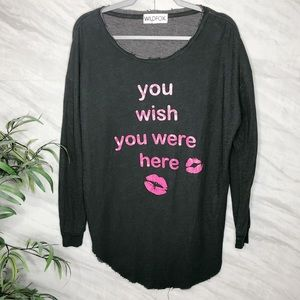 WildFox Oversized Top Large
